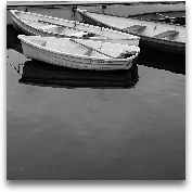 A Jumble Of Boats Cr...<span>A Jumble Of Boats Crop - 18x18</span>