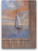 Sailing at Sunset II