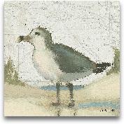 Beach Bird II - 8x8