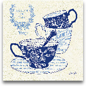 Blue Cups IV