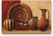 Basket And Vessels -...<span>Basket And Vessels - 36x24</span>