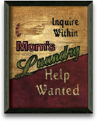 Laundry Help Wanted