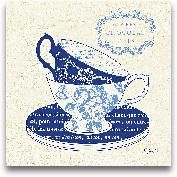 Blue Cups II - 12x12