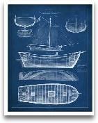 Antique Ship Bluepri...<span>Antique Ship Blueprint II</span>
