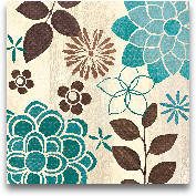 Abstract Garden Blue...<span>Abstract Garden Blue II - 12x12</span>