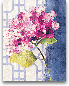 Antique Floral On Wh...<span>Antique Floral On White I - 11x14</span>