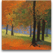 Autumn Trees 18x18