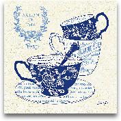 Blue Cups IV - 12x12