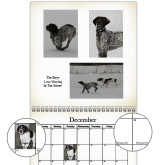 2016 Antique White Wall Calendar