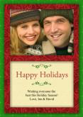5x7 Card: Merry Christmas