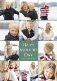 Green Happy Mother's Day Collage