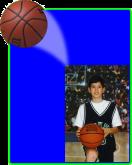Basketball -  Action Easel