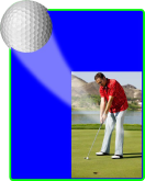 Golf - Action Easel