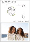 How To Tie A Tie Father's Day
