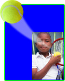 Tennis - Action Easel