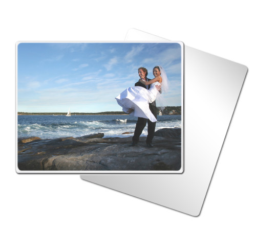 Clear Silver Photo Panel - 11x14