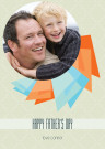 Geometric Ribbon Father's Day