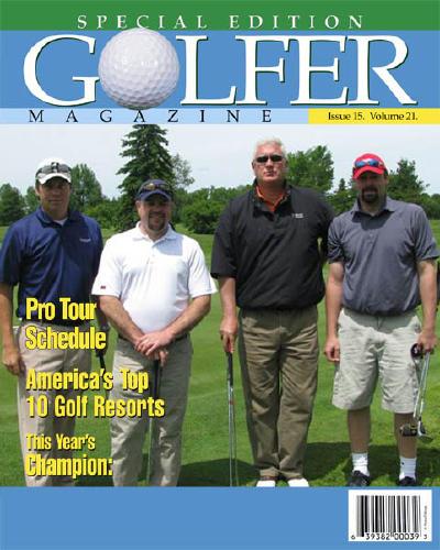 "8x10 ""Golfer"" Cover"