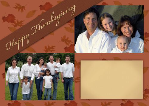5x7 Card: Happy Thanksgiving