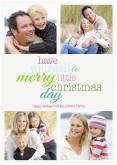 Merry Little Christmas - White