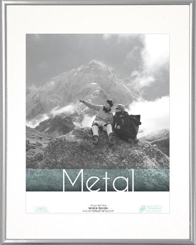 Metal Silver 8x10
