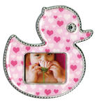 Epoxy Magnet - Pink Duck