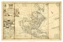 Antique Map of America I