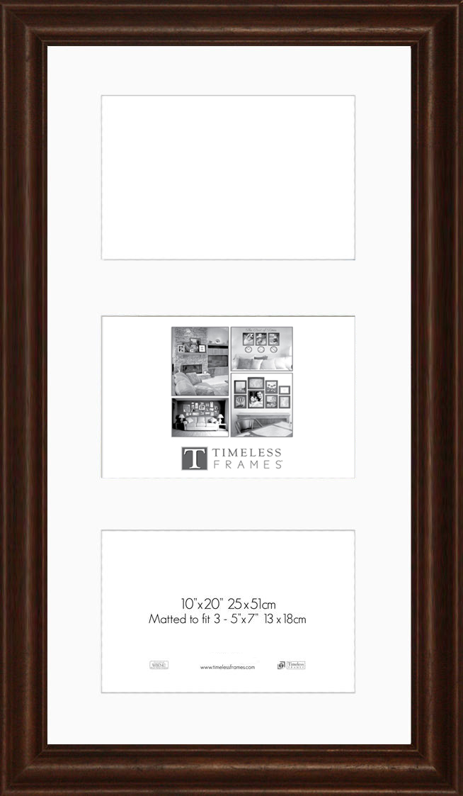 View - Huntley Walnut 10x20 - Collage | Timeless Frames