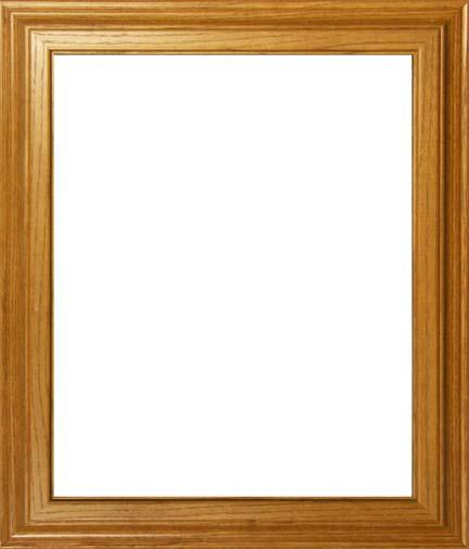 View - Ashland Honey Openback 8X10 - Open Back | Timeless Frames