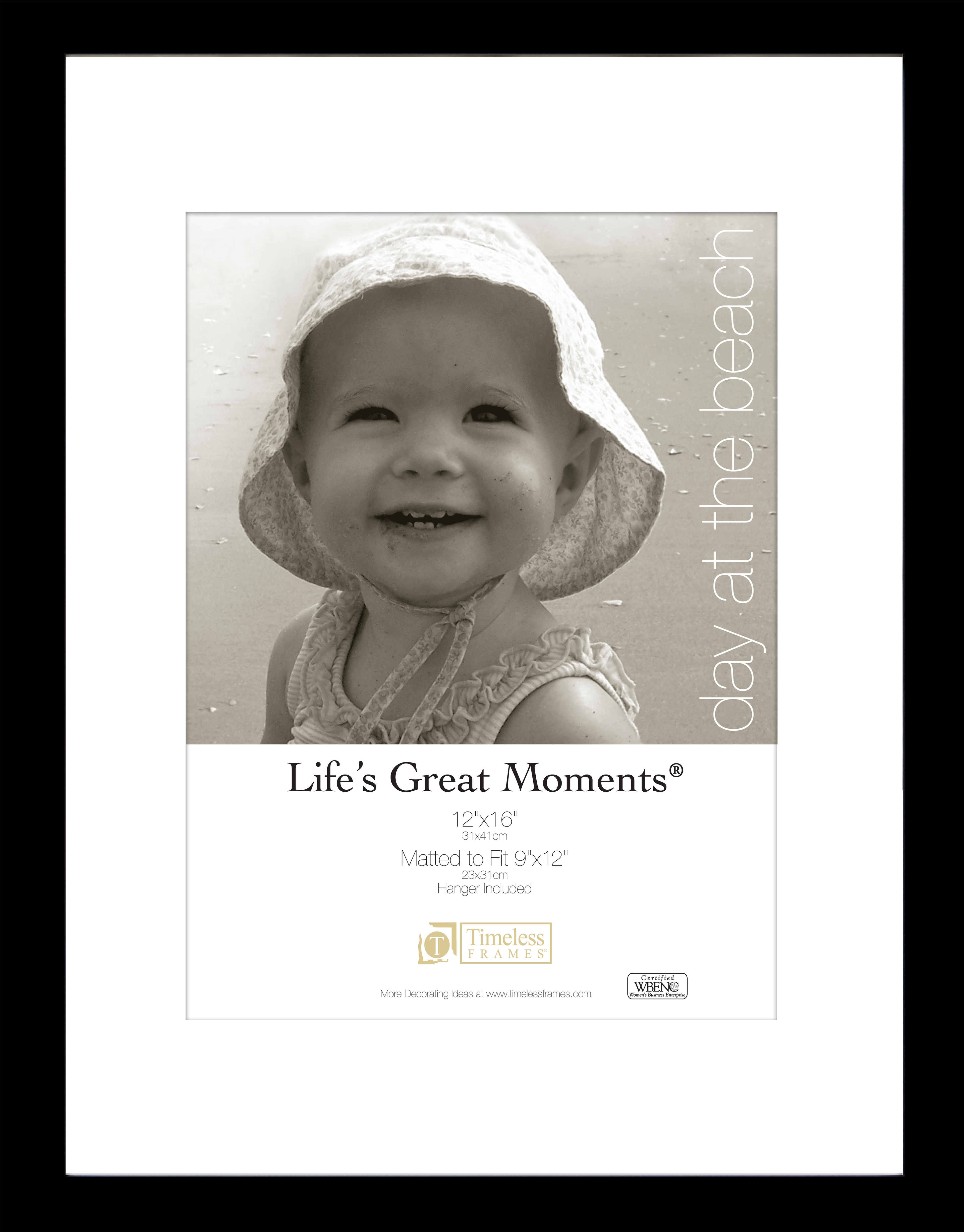 View Lifes Great Moments 12x16 9x12 Black Timeless Frames