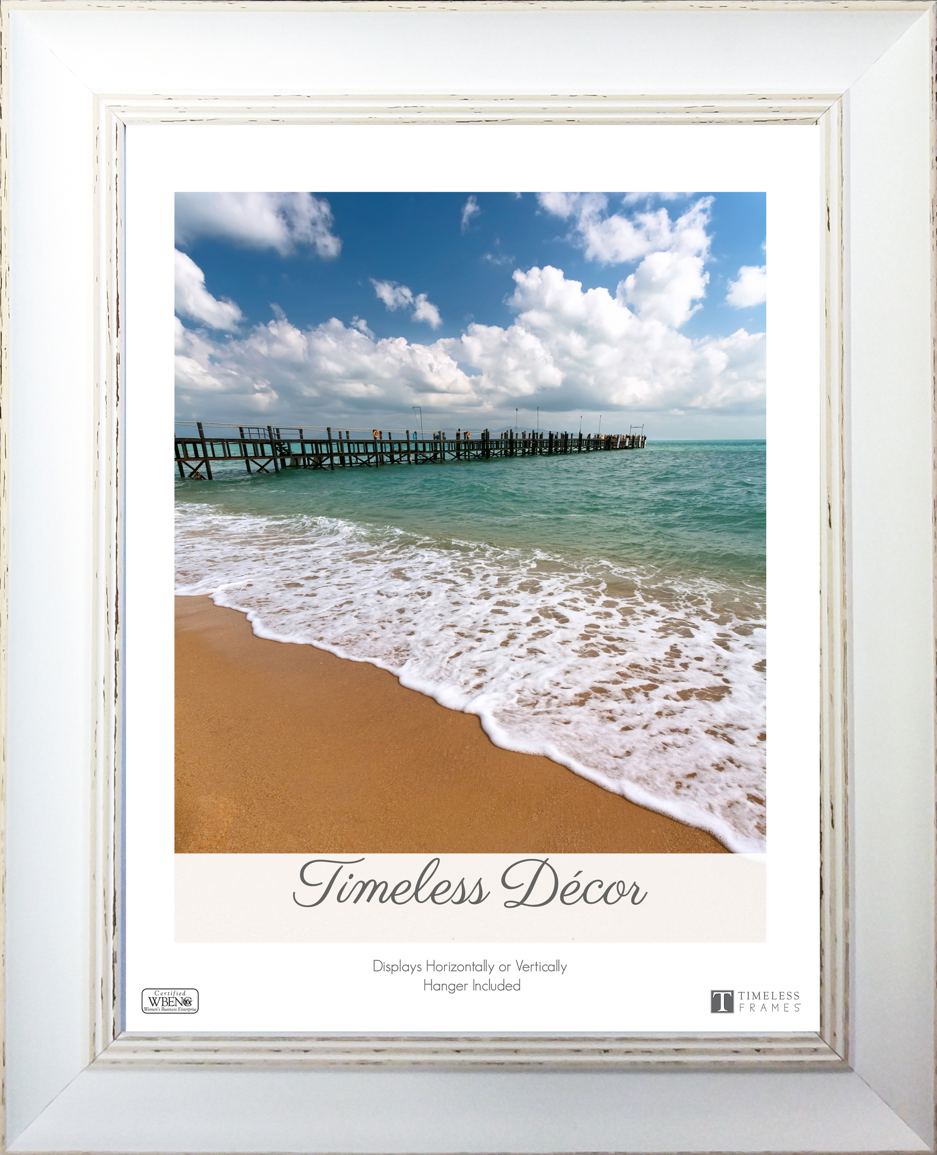 View - Della- 10x13 - Wall | Timeless Frames